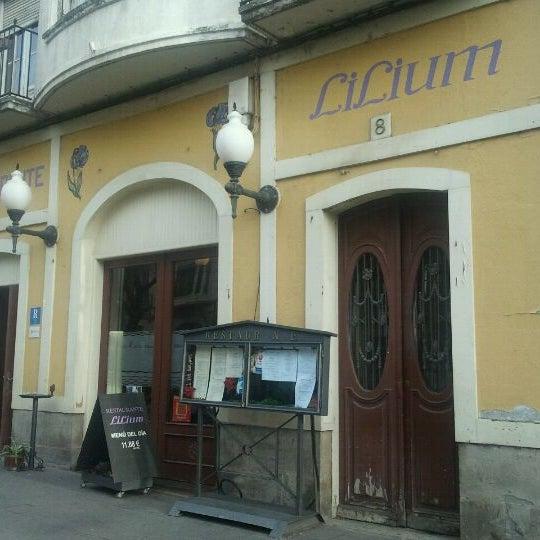Foto tirada no(a) Restarurante Lilium por Ignacio G. em 12/14/2011
