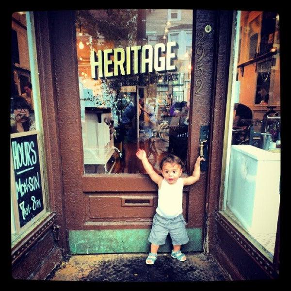 Das Foto wurde bei Heritage Bicycles von Heritage B. am 8/26/2012 aufgenommen