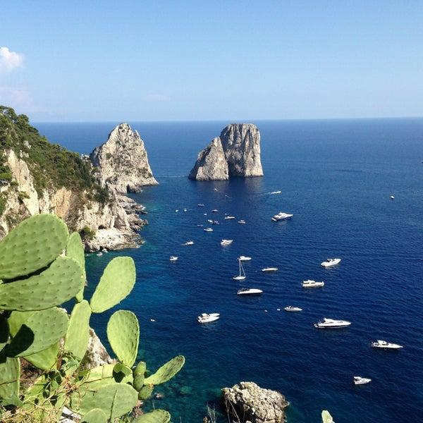 Снимок сделан в Capri Tiberio Palace пользователем Christophe P. 8/12/2013