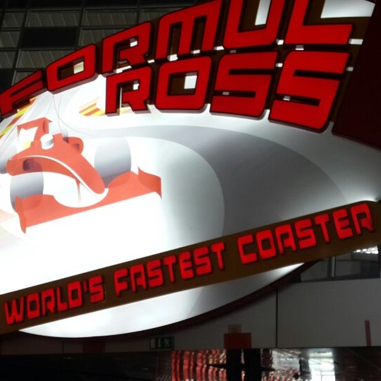 Photo taken at Ferrari World Abu Dhabi by Yaro$lav ✌. on 6/4/2013