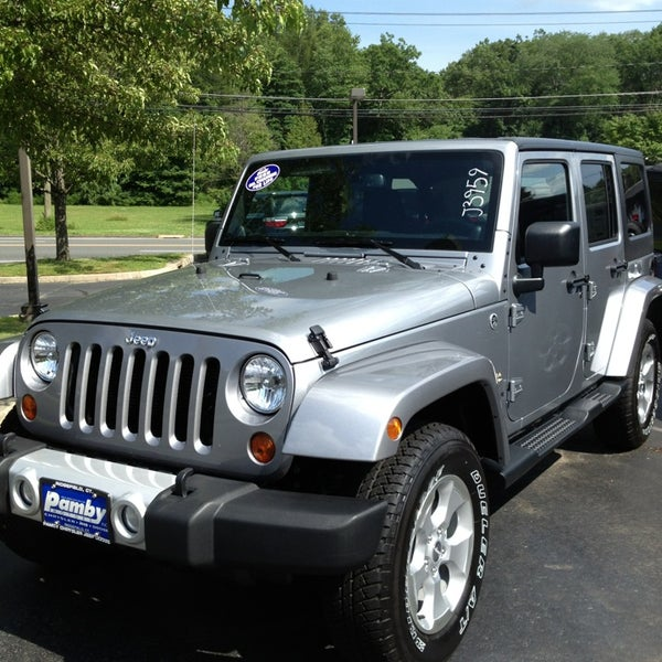 Photo taken at Pamby Chrysler Jeep Dodge by Sharon A. on 7/11/