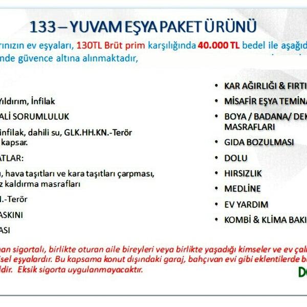 Photos At Aliakif üzün Sigorta Acenteliği No68b