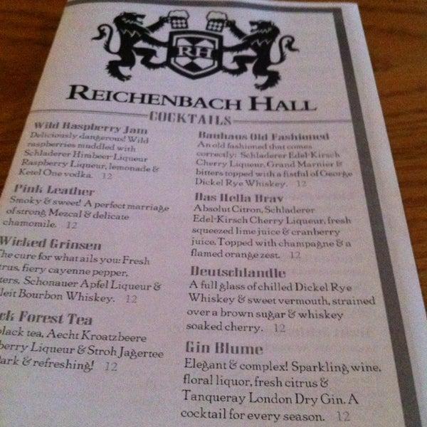 Снимок сделан в Reichenbach Hall пользователем Stephanie C. 8/16/2013