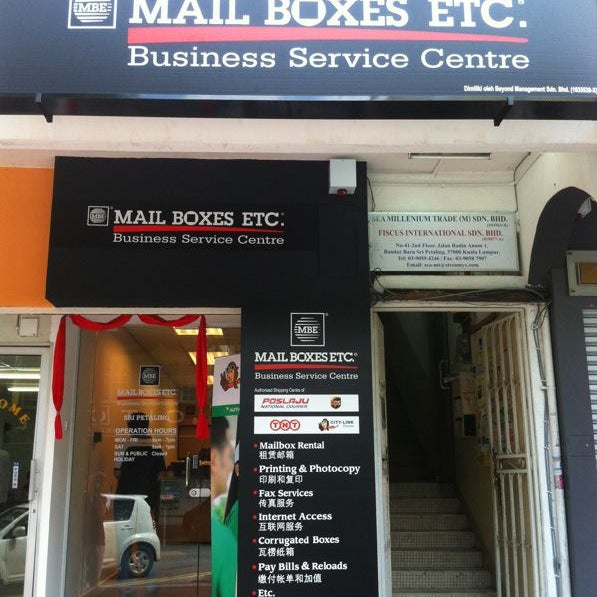 A Tip At Mail Boxes Etc Mbe Sri Petaling