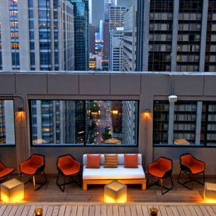 1/26/2012 tarihinde Denihan H.ziyaretçi tarafından MileNorth, A Chicago Hotel'de çekilen fotoğraf