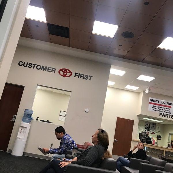Photo Taken At Westbury Toyota Service By Frank R On 10 16 2017