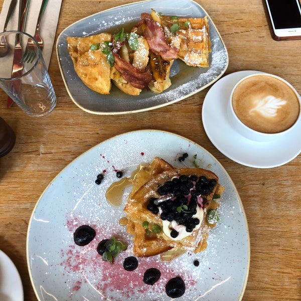 Quality coffee and the breakfast menu is overwhelming with how many good options there are! definitely coming back for pancakes and poached eggs on toast