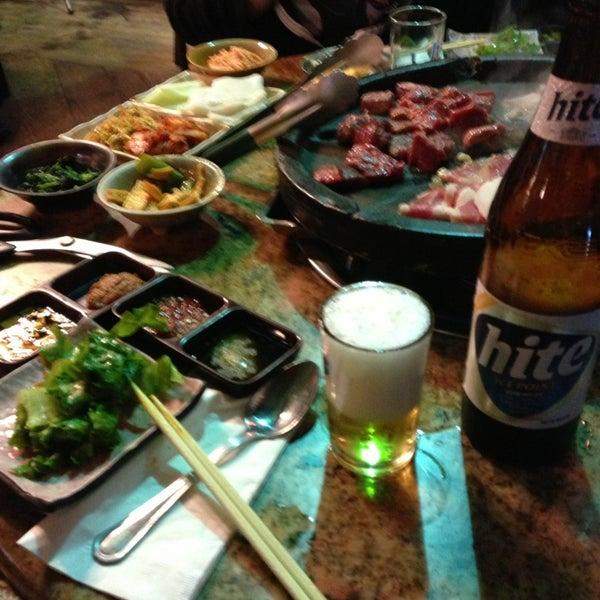Foto scattata a Hae Jang Chon Korean BBQ Restaurant da Madeline M. il 7/10/2013