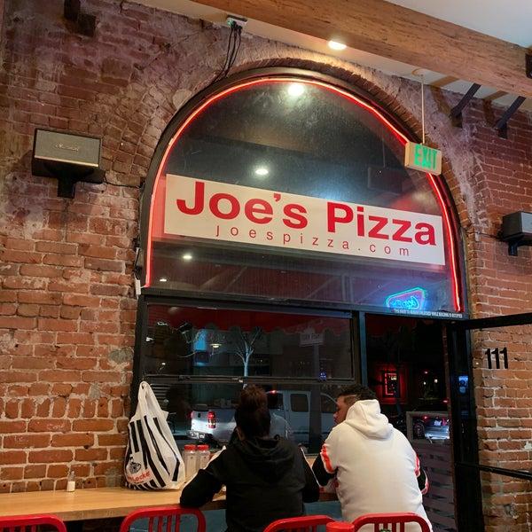 Foto scattata a Joe's Pizza da Beni G. il 1/31/2020