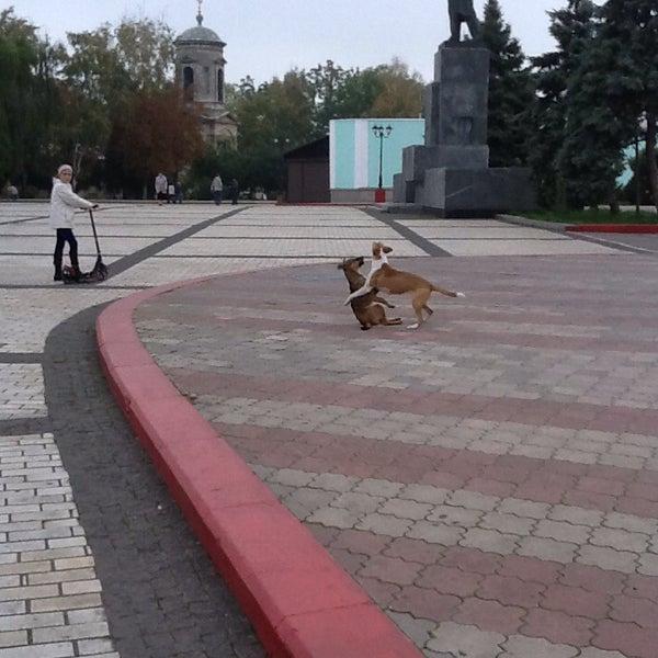 Снимок сделан в Площадь Ленина пользователем Галочка П. 10/13/2013