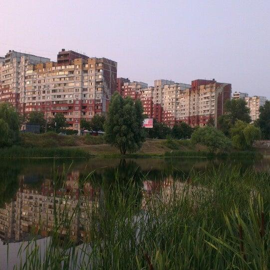 รูปภาพถ่ายที่ Троєщинський канал โดย Андрей Ч. เมื่อ 7/10/2013