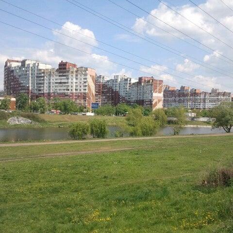 รูปภาพถ่ายที่ Троєщинський канал โดย Димон R. เมื่อ 4/30/2014
