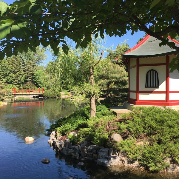 Photo taken at Normandale Japanese garden by Tony D. on 6/1/2017