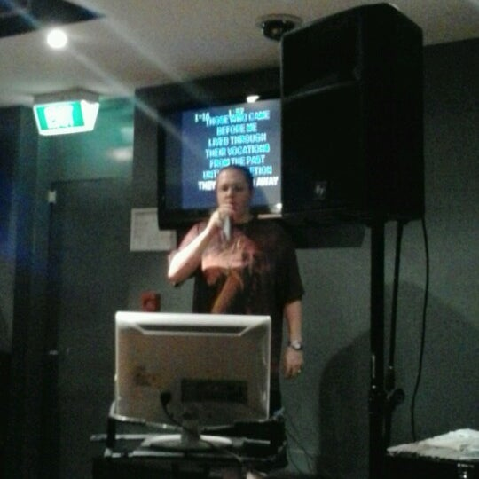 Karaoke wednesday nights at the rsl.