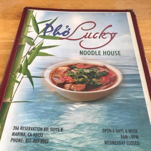 Photos At Pho Lucky Noodle House Vietnamese Restaurant In Marina