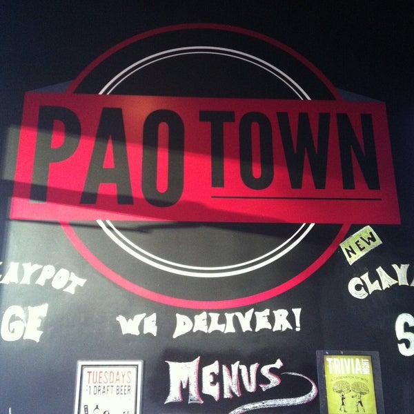 Das Foto wurde bei Pao Town von Alexis R. am 5/6/2013 aufgenommen