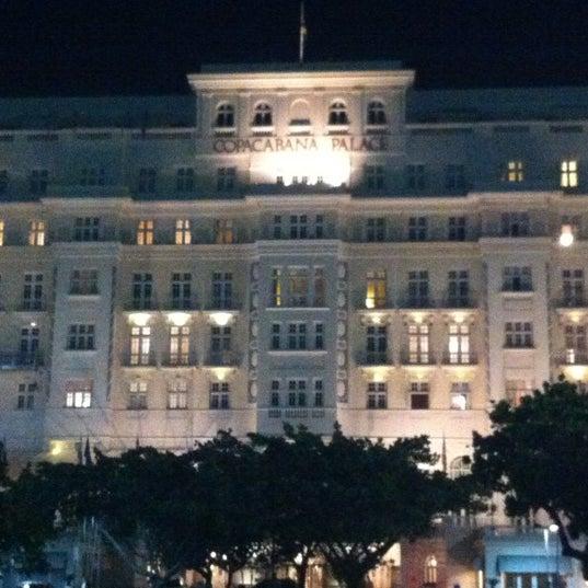 10/10/2012에 Marcelo M.님이 Belmond Copacabana Palace에서 찍은 사진