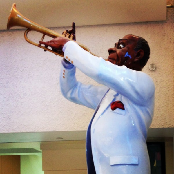 Foto scattata a Louis Armstrong New Orleans International Airport (MSY) da Fernando L. il 5/4/2013