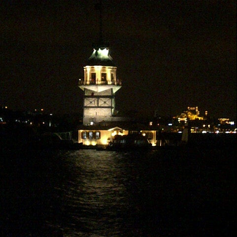 7/21/2013にEceがKız Kulesiで撮った写真