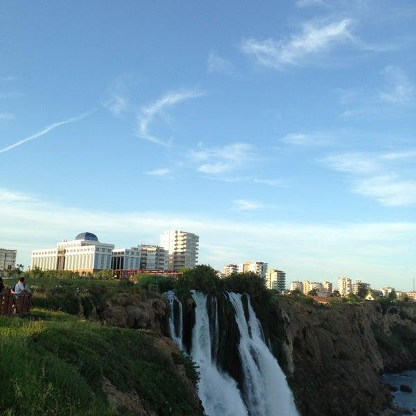 5/25/2013 tarihinde Serdar Y.ziyaretçi tarafından Düden Şelalesi'de çekilen fotoğraf