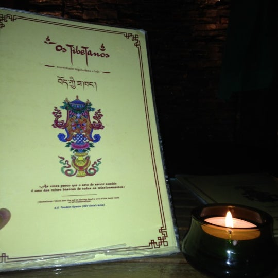 Снимок сделан в Os Tibetanos пользователем Miguel B. 10/20/2012