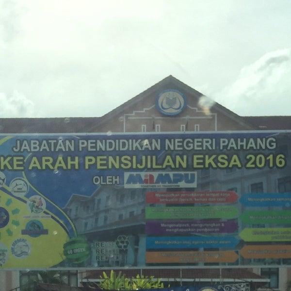 Jabatan Pendidikan Negeri Kuantan Pahang