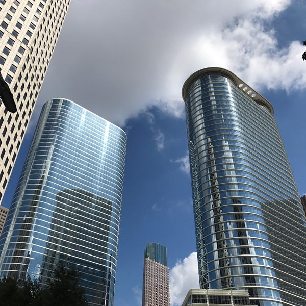 Enron Building Downtown Houston Houston Tx