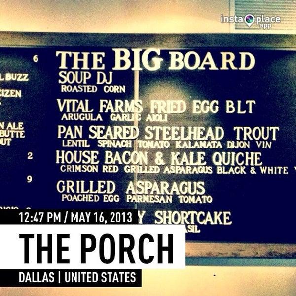 Foto tirada no(a) The Porch por Craig F. em 5/16/2013