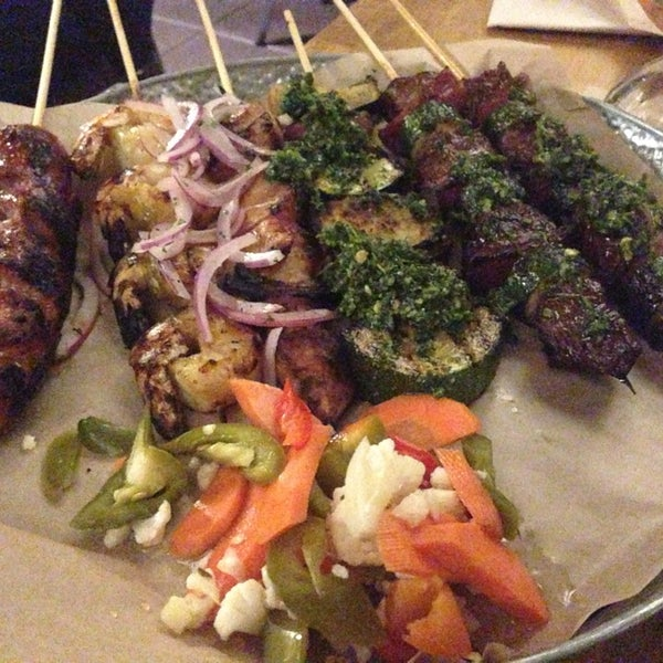Food was so good, my fav steak skewers, ceviche delicious. Service, was the worst service I've ever had. Waitress took 15mns to come to the table. I need more room to say how bad the service was.