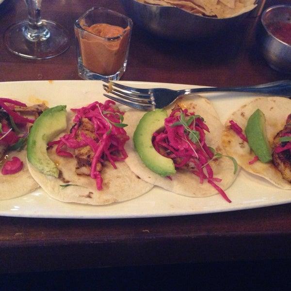 Sea Bass Street Tacos! Yummiiii!!!!