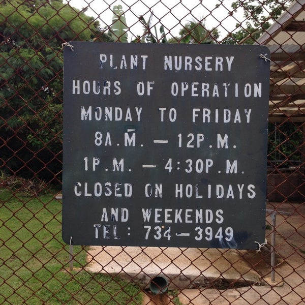 Plant Nursery Guam Dept Of Agriculture 2 Tips From 1 Visitor