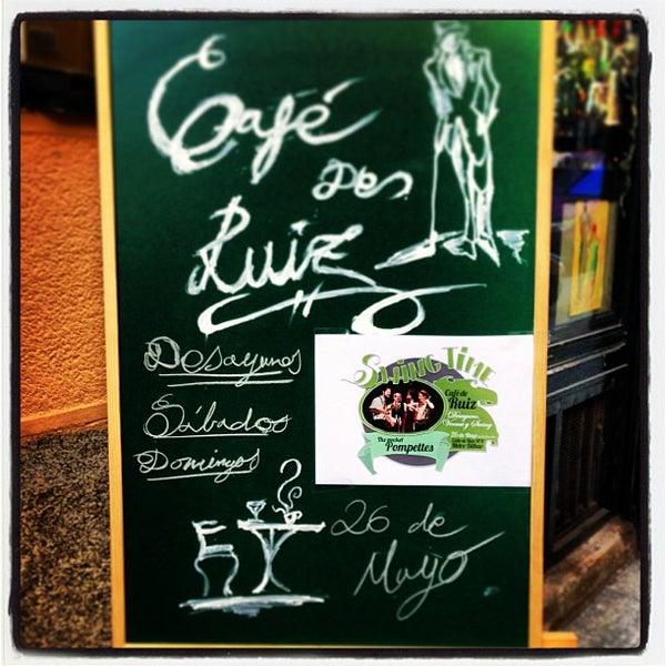 Photo prise au Café de Ruiz par ROBERTO R. le5/24/2013