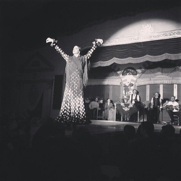 Foto tomada en Tablao Flamenco El Palacio Andaluz por Stefano S. el 12/31/2014