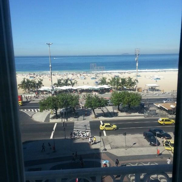 7/13/2013에 Fernanda N.님이 Belmond Copacabana Palace에서 찍은 사진