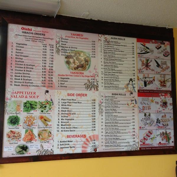 Photos At Oishi Japanese Restaurant In West Biloxi