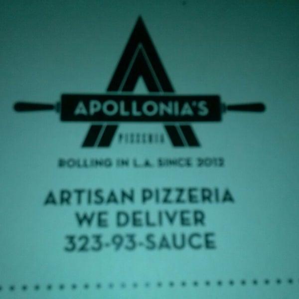 Foto scattata a Apollonia's Pizzeria da Angela F. il 6/15/2013