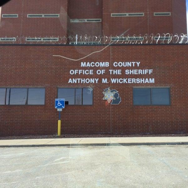Photos at Macomb County Jail - Police Station