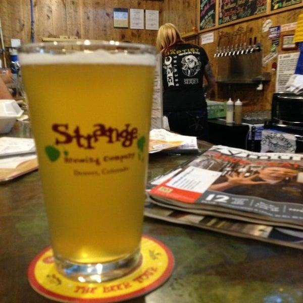 Das Foto wurde bei Strange Craft Beer Company von Jason H. am 7/13/2013 aufgenommen