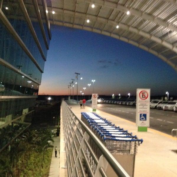 Снимок сделан в Aeroporto Internacional de Natal / São Gonçalo do Amarante (NAT) пользователем Diogo S. 12/14/2014