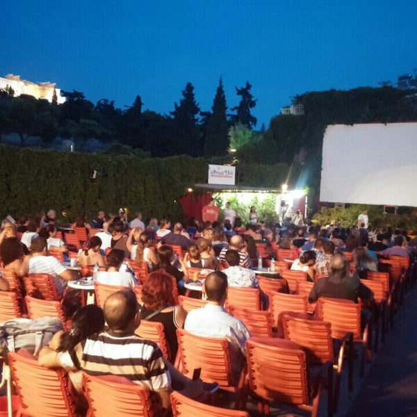 Photo prise au Cine Thisio par Maria K. le8/15/2015