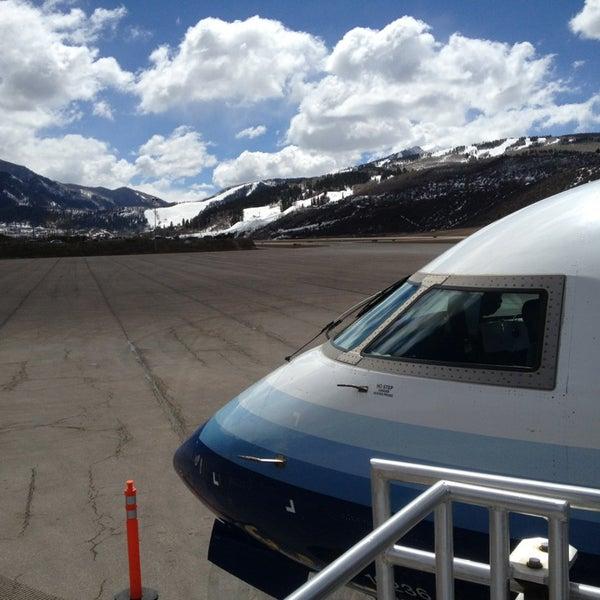 Photo prise au Aspen/Pitkin County Airport (ASE) par Mando le4/3/2013