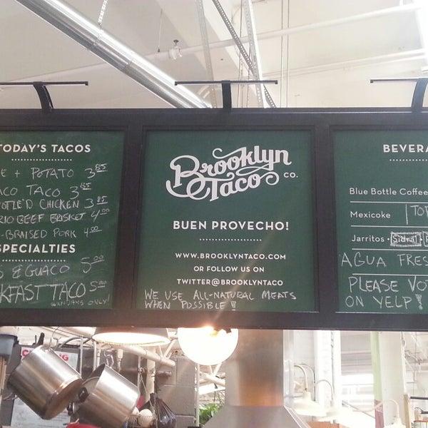 Снимок сделан в Brooklyn Taco Company пользователем Taco A. 6/16/2013
