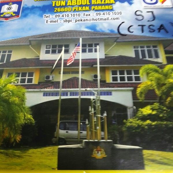 Foto Di Sbp Integrasi Tun Abdul Razak Pekan Phg Pekan Pahang