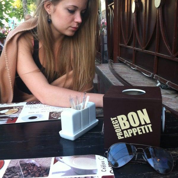 รูปภาพถ่ายที่ Café Bon Apрétit โดย Ксюня Ч. เมื่อ 7/22/2013