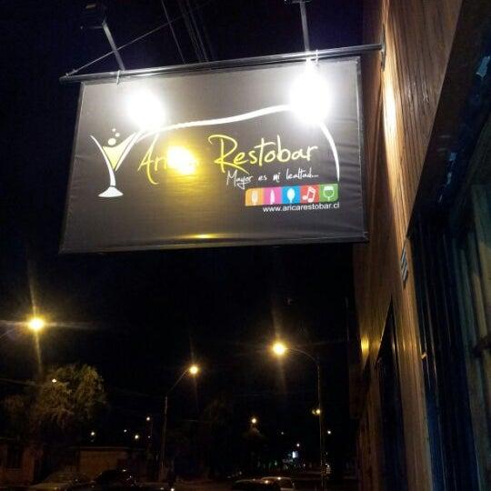 รูปภาพถ่ายที่ Arica Restobar โดย Christian A. เมื่อ 6/2/2012