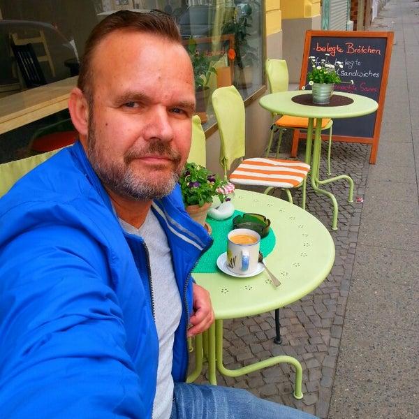 Photo taken at Café Jule by Micha E. on 4/11/2014
