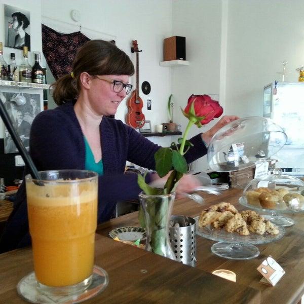 Photo taken at Café Jule by Micha E. on 3/3/2014
