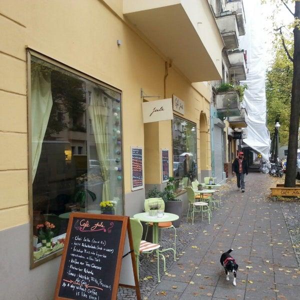Photo taken at Café Jule by Micha E. on 10/16/2013