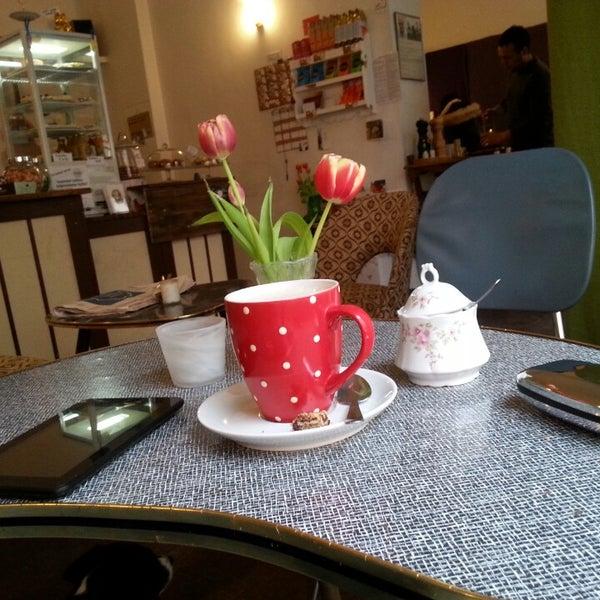 Photo taken at Café Jule by Micha E. on 3/22/2014