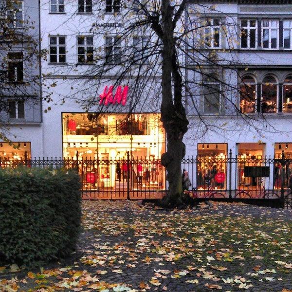 Hm Clothing Store In København K